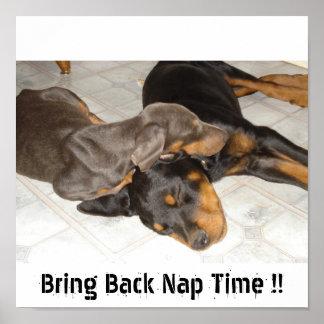 Bring Back Nap Time  Poster