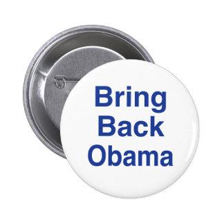 Bring Back Obama Pinback Button