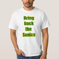 Bring Back the Sonics! T-Shirt
