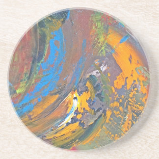 Bring color into your life coaster