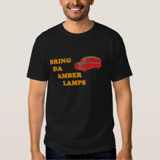 BRING DA AMBER LAMPS (Black) T-Shirt