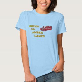 BRING DA AMBER LAMPS Ladies T-Shirt