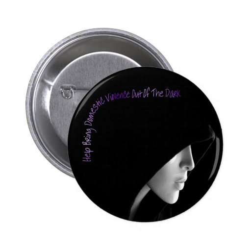 Bring Domestic Violence Out Button