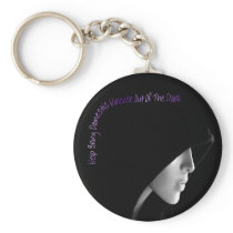 Bring Domestic Violence Out Keychain