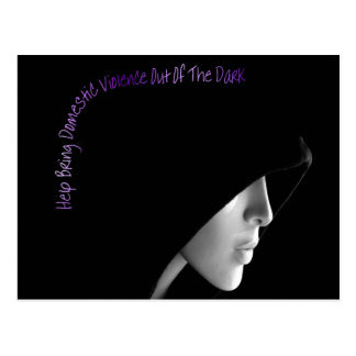 Bring Domestic Violence Out Postcard