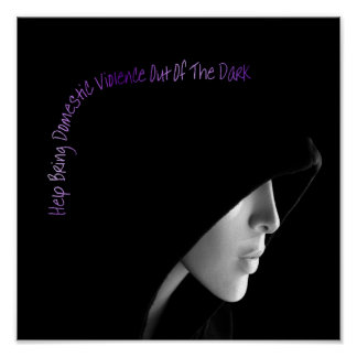 Bring Domestic Violence Out Poster