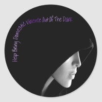 Bring Domestic Violence Out Stickers