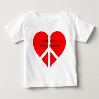 Bring Down Wall Street Baby T-Shirt