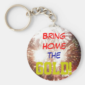 Bring Home the GOLD keychain