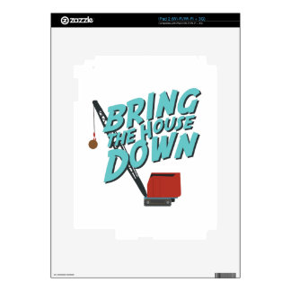 Bring House Down iPad 2 Decal
