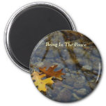 Bring In The Peace Sequoia Leaves/Brook Magnet