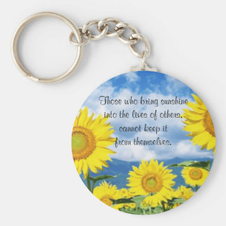 Bring in the Sunshine Keychain