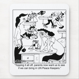 Bring in the UN Peace Keepers Mouse Pad