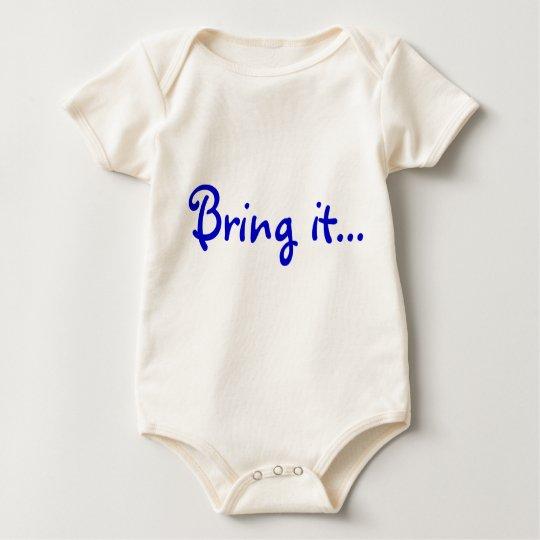 Bring it... baby bodysuit