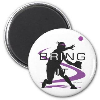 Bring it D 2 Inch Round Magnet