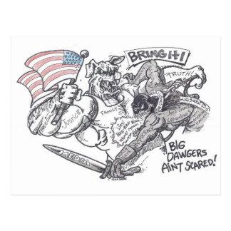 """Bring It"" Design by Richard Gibbs Postcard"