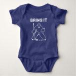 Bring It Hockey Goalie Baby Infant Bodysuit