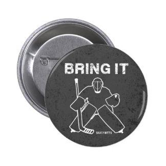 Bring It Hockey Goalie Pins