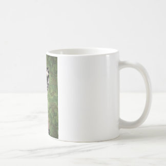 BRING IT ON! (girl with machine gun) ~ Classic White Coffee Mug