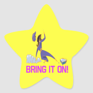 Bring It On Star Sticker