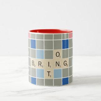 Bring It On Two-Tone Coffee Mug