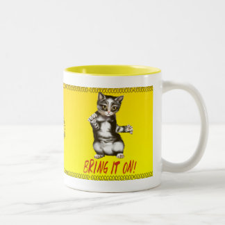 Bring It On! Two-Tone Coffee Mug