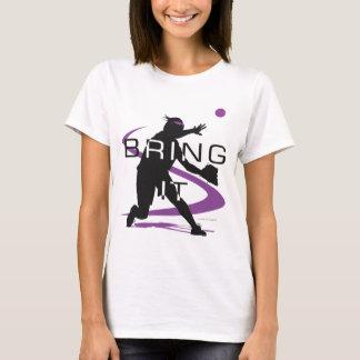 Bring it Purple Softball T-Shirt