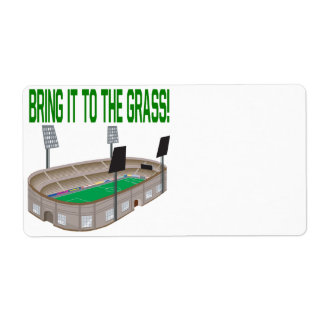 Bring It To The Grass Label
