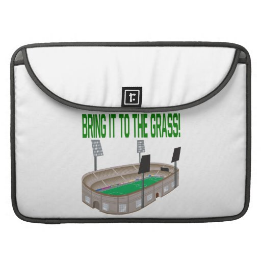 Bring It To The Grass MacBook Pro Sleeves