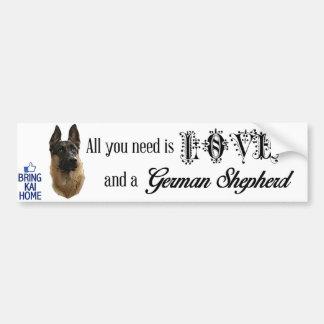 Bring Kai Home Bumper Sticker