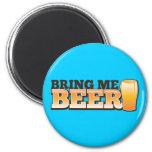 BRING ME BEER The Beer Shop design Refrigerator Magnets