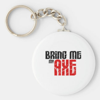 Bring me my Axe (Guitar Month) Keychain