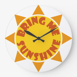 Bring me Sunshine clock