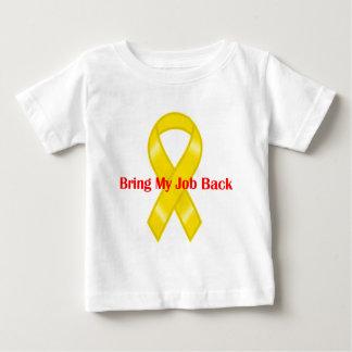 Bring My Job Back Yellow Ribbon Tee Shirt