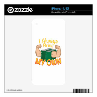 Bring My Own Decals For iPhone 4