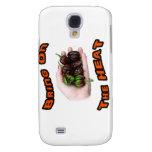 Bring On Heat Chocolate Hot Habanero Pepper Samsung Galaxy S4 Case