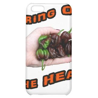 Bring On Heat Chocolate Hot Habanero Pepper iPhone 5C Case