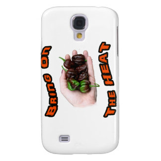 Bring On Heat Chocolate Hot Habanero Pepper Samsung S4 Case