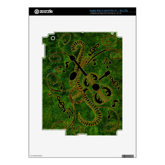 Bring on the Band Green Background iPad 3 Decal