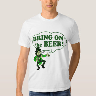 Bring On The Beer Leprechaun T-shirt