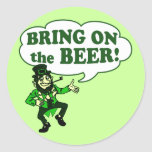 Bring on the BEER! Sticker