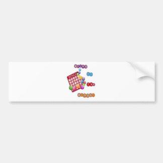 Bring On The Bingo design2.png Bumper Sticker