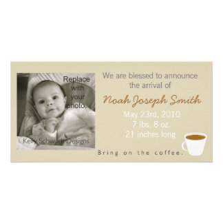 Bring On the Coffee Baby Announcement