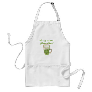 Bring on the Green Beer Tshirts and Gifts Adult Apron