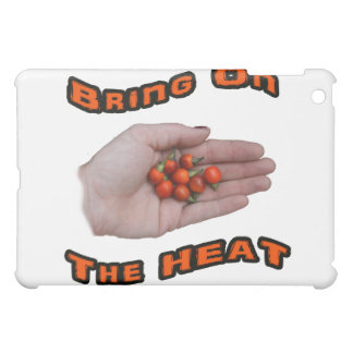Bring On The Heat Cascabel Hot Peppers Hand Cover For The iPad Mini
