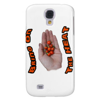 Bring On The Heat Cascabel Hot Peppers Hand Galaxy S4 Cover