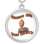 Bring On The Heat Habanero Fingers Hot Pepper Custom Necklace