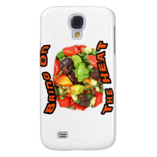 Bring On The Heat Hot Pepper Pile Graphic Samsung S4 Case