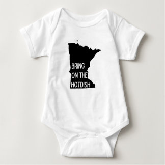 Bring on the Hotdish Funny Minnesota Infant Shirt