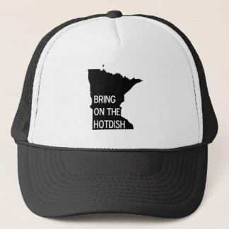 Bring on the Hotdish Funny Minnesota Trucker Hat